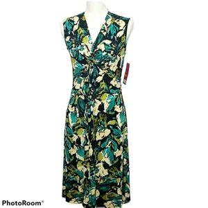212 Collection Sleeveless Twist Dress Sz X…